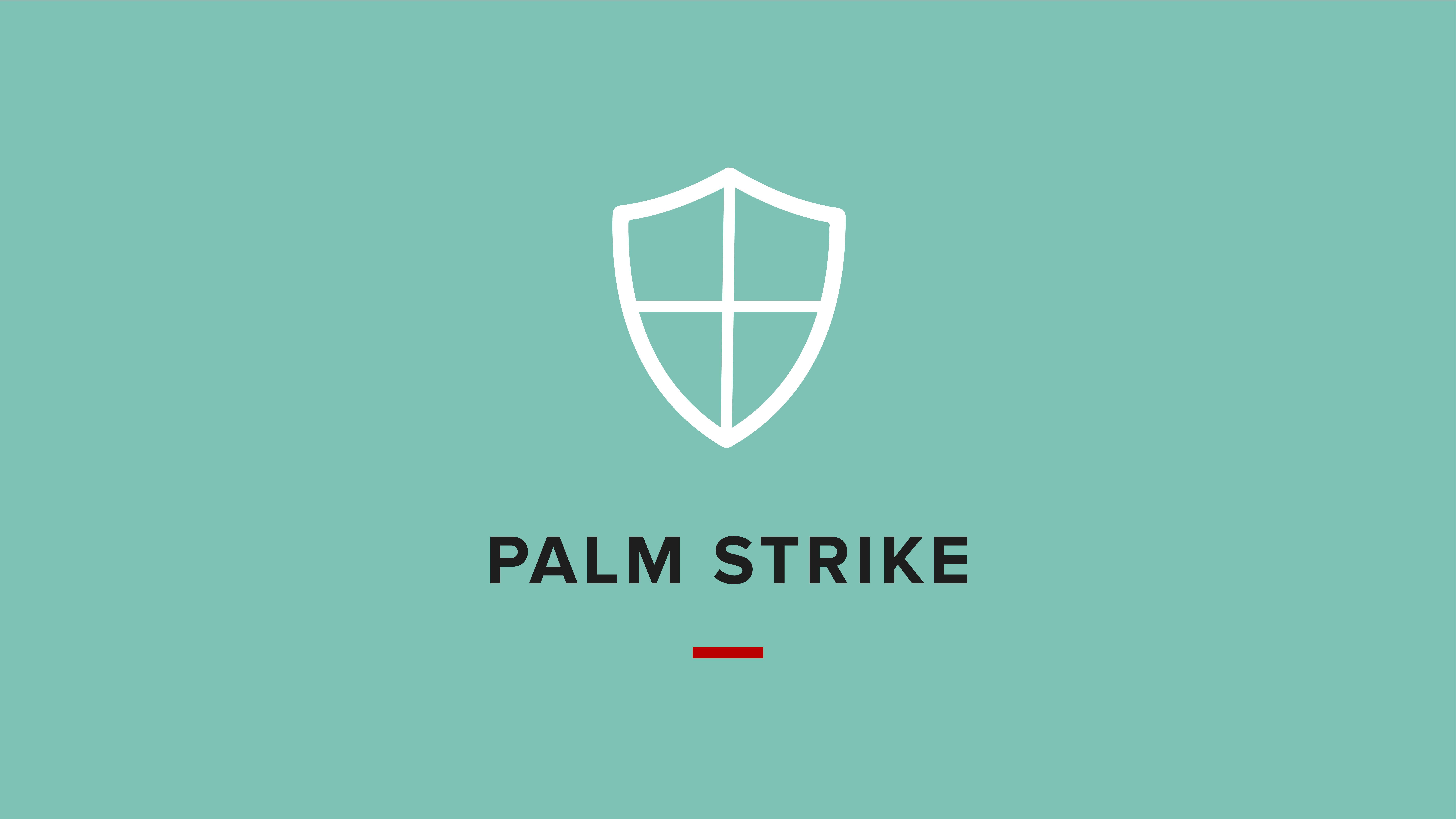 Palm Strike Graphic