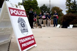photo of community police academy training sessions