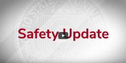 """Text that says """"Safety Update"""""""