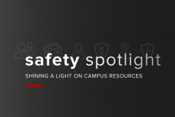 Graphics for Safety Spotlight video series.