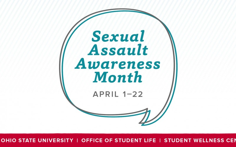 Sexual Assault Awareness Month Image