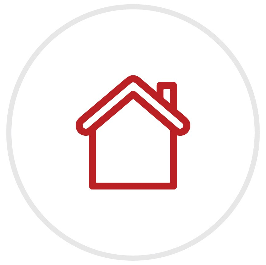 Icon for home safety.