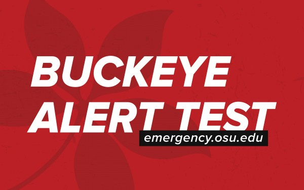 buckeye alert system test news story graphic