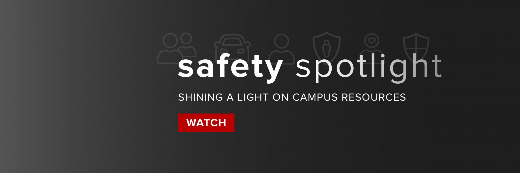 Banner for Safety Spotlight.