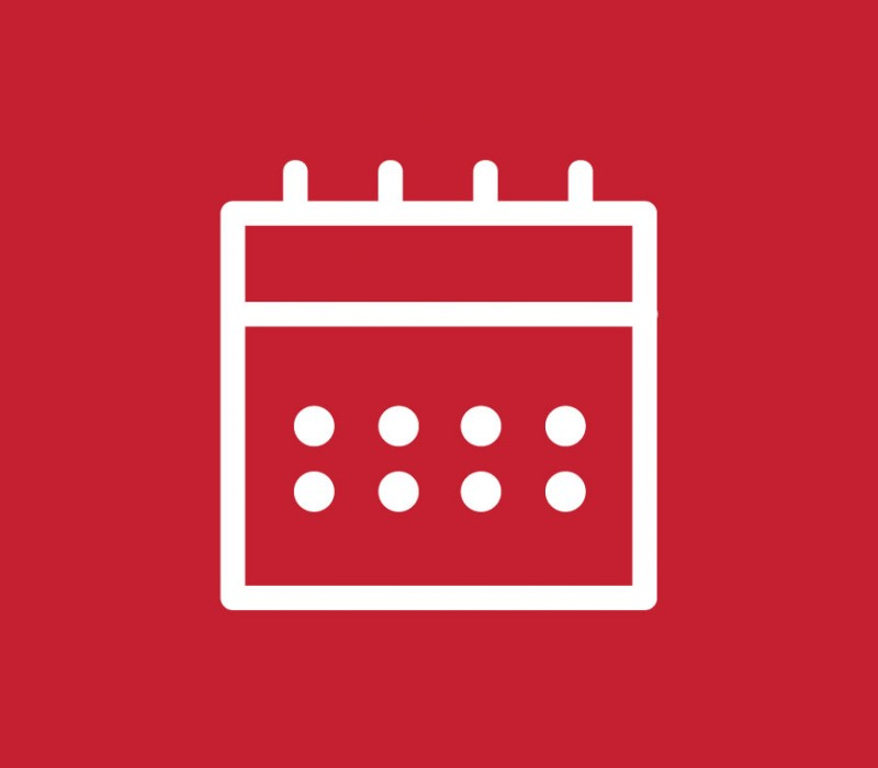 icon graphic representing a monthly calendar