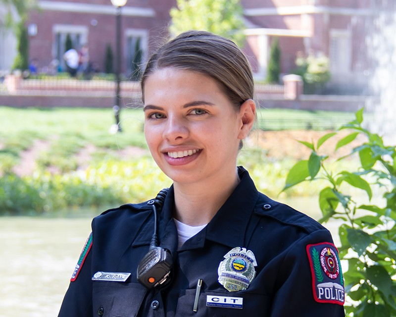 Officer Katie Ray